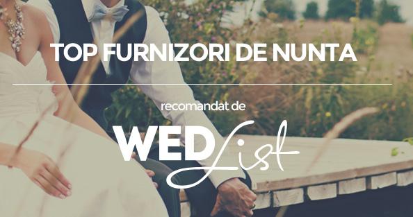Wedlist Top Furnizori Pentru Nunta Din Romania Alesi De